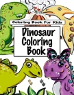 Dinosaur Coloring Book Cover Image