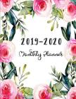 2019-2020 Monthly Planner: At a glance 24 Month Planner- The Happy Planner Cover Image