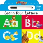 The Beginner's Bible Learn Your Letters: A Wipe Away Board Book Cover Image