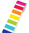 Twinkle Twinkle You're a Star! Vertical Rainbow Stripes Rolled Straight Borders Cover Image