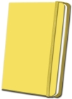 Yellow Linen Journal Cover Image