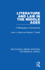 Literature and Law in the Middle Ages: A Bibliography of Scholarship Cover Image