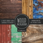 Wood Background Scrapbook Paper Pad 8x8 Scrapbooking Kit for Papercrafts, Cardmaking, DIY Crafts, Rustic Texture Design, Multicolor Cover Image
