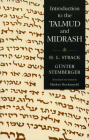 Introduction to the Talmud and Midrash Cover Image