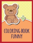 coloring book funny: coloring pages with funny images to Relief Stress for kids and adults (Baby Animals #14) Cover Image
