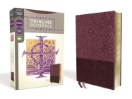 Nrsv, Thinline Reference Bible, Leathersoft, Burgundy, Comfort Print Cover Image