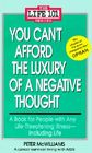 You Can't Afford the Luxury of a Negative Thought (Life 101 Series) Cover Image