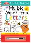 My Big Wipe Clean Letters: Over 200 Fun Activities (First Time Learning) Cover Image