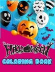 Halloween coloring book: Creative Collection illustration with 100+ quality and easy coloring book ever - With lots Fun and Easy Happy Hallowee Cover Image