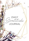 Daily Gratitude Journal: (Purple Flowers with Callout) A 52-Week Guide to Becoming Grateful Cover Image