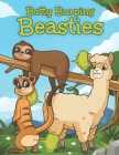 Botty Burping Beasties: Farting Animals Coloring Book For Animal Lovers Adults And Kids of All Ages Cover Image