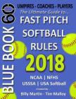 Bluebook 60 Fastpitch Softball Rules 2018: The Ultimate Guide to Fastpitch Softball Rules. Cover Image