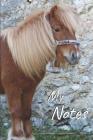 My notes: Pony Shetland Notebook, Horse - Size 6