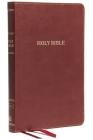 KJV, Thinline Bible, Standard Print, Imitation Leather, Burgundy, Red Letter Edition Cover Image