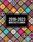 2019-2023 Monthly Planner: Colorful Mandala Book, 8.5