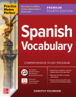 Practice Makes Perfect: Spanish Vocabulary, Premium Fourth Edition Cover Image