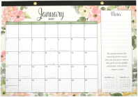 2021 Faith Desk Calendar Pad (with Stickers) Cover Image