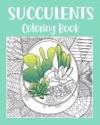 Succulents Coloring Book Cover Image