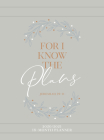For I Know the Plans 2021 Planner: 18 Month Ziparound Planner Cover Image