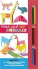 Punch and Color: Animals [With Sticker(s) and 45 Punch-Out Models and 6 Colored Pencils] Cover Image