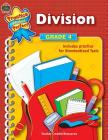 Division Grade 4 (Practice Makes Perfect (Teacher Created Materials)) Cover Image
