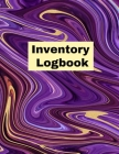 Inventory Log book: Record Book, Inventory Collection, Management Tracker, Online Cover Image
