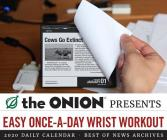 The Onion 2020 Daily Calendar: (2020 Daily Calendar, Funny Calendar, 2020 Calendar Book) Cover Image