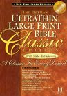 NKJV Large Print Classic Ultrathin Reference Bible (British Tan Bonded Leather) Cover Image
