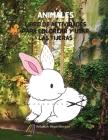 Animales Libro de actividades para colorear y usar las tijeras: Mi primer libro de actividades y coloreado de animales increíbles para niños de 5 a 12 Cover Image