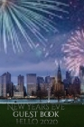 New Years Eve skyline blank guestbook hello 2020 NYC creative journal Cover Image