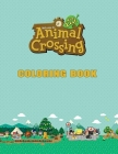 Animal Crossing Coloring Book: Animal Crossing Big Book, Gifts Book. Cover Image