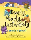 Dearly, Nearly, Insincerely: What Is an Adverb? (Words Are Categorical (R)) Cover Image