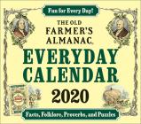 The 2020 Old Farmer's Almanac Everyday Box Calendar Cover Image