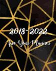 2018 - 2022 Five Year Planner: Monthly Schedule Organizer -Agenda Planner for the Next Five Years, 60 Months Calendar, Appointment Notebook, Monthly Cover Image