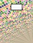 Math Notebook: Grid Paper Notebook 110 Sheets Large 8.5 x 11 Quad Ruled 5x5 Cover Image