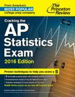 Cracking the AP Statistics Exam, 2016 Edition Cover Image