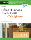 The Small Business Start-Up Kit for California Cover Image