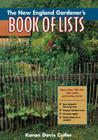 The New England Gardener's Book of Lists Cover Image