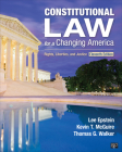 Constitutional Law for a Changing America: Rights, Liberties, and Justice Cover Image