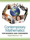 Contemporary Mathematics for Business and Consumers Cover Image