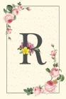 Daily To Do List Notebook R: Simple Floral Initial Monogram Letter R - 100 Daily Lined To Do Checklist Notebook Planner And Task Manager Undated Wi Cover Image
