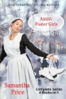 Amish Foster Girls 4 Books-in-1: Complete Amish Romance Series Cover Image