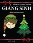 Sách tô màu cho trẻ 4-5 tuổi (Giáng sinh): Cuốn sách này có 40 trang tô màu không gây căng thẳng nhằm giảm vi Cover Image