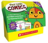 First Little Comics: Guided Reading Levels C & D (Classroom Set): A Big Collection of Just-Right Leveled Books for Beginning Readers Cover Image