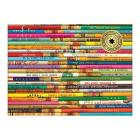 Phat Dog Vintage Pencils 1000 Piece Foil Stamped Puzzle Cover Image