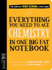 Everything You Need to Ace Chemistry in One Big Fat Notebook (Big Fat Notebooks) Cover Image