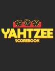 Yahtzee Scorebook: Double-Sided Score Sheet of Yahtzee 120 pages (8.5 x 11) Perfect Binding with Clear Text Game Book for Adults Women Me Cover Image