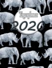 Tagesplaner 2020: Nur für starke Persönlichkeiten! Kalender 2020 - pro Tag ein Blatt Cover Image