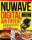 NUWAVE Digital Air Fryer Cookbook for Beginners Cover Image