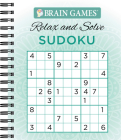 Brain Games - Relax and Solve: Sudoku (Teal) Cover Image
